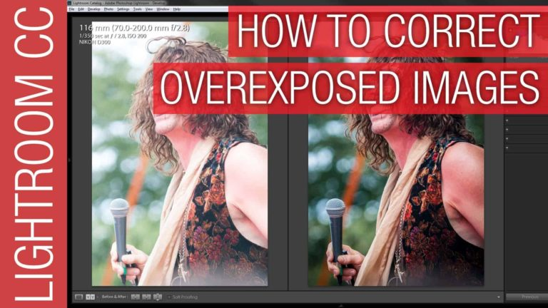 How to Fix Overexposed Photographs in Adobe Lightroom