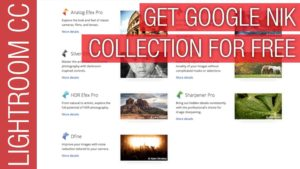 Google Nik Collection Software for Lightroom & Photoshop for Free