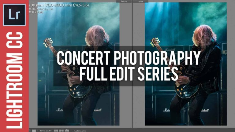 Full Edit: Concert Photography in Lightroom