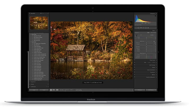 Apple Mac Preset Screen