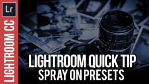Lightroom Tips: Spray on Presets